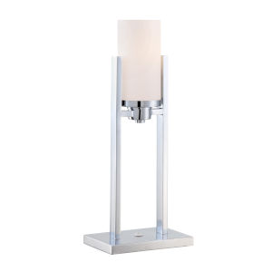 Caesarea Frosted 22-Inch One-Light Table Lamp