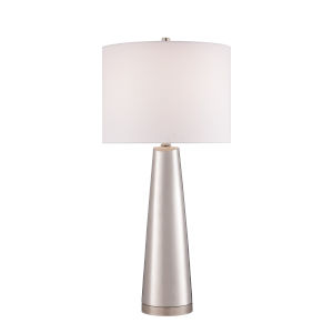 Tyrone Silver One-Light Table Lamp