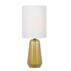 Charna Gold One-Light Table Lamp