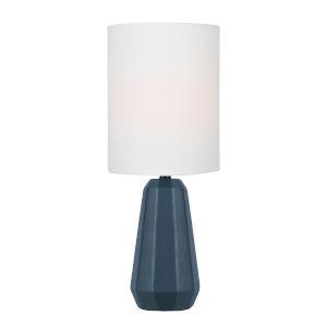Charna Jet Black One-Light Table Lamp
