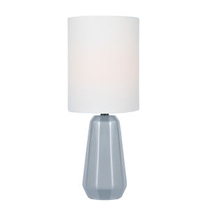 Charna Silver One-Light Table Lamp