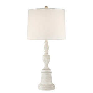 Whichello White 32-Inch One-Light Table Lamp
