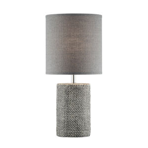 Dustin Gray 18-Inch One-Light Table Lamp
