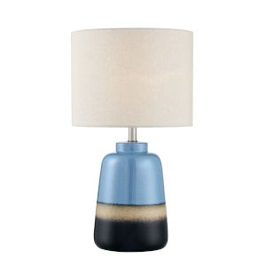 Cinclare Blue And Black 23-Inch One-Light Table Lamp