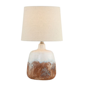 Marco Light Beige 17-Inch One-Light Table Lamp