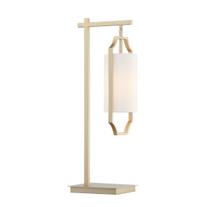 Lenore White 23-Inch One-Light Table Lamp