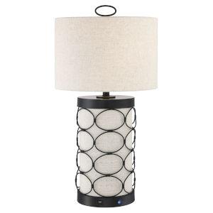 Luvenia Tan 29-Inch One-Light LED Table Lamp