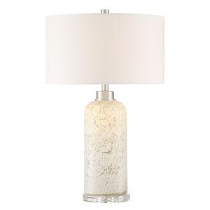 Priel Mottled Glass LED Table Lamp