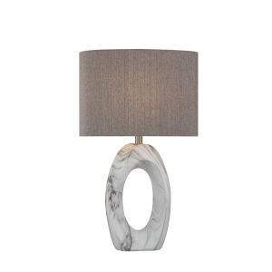 Clover II Marbled One-Light Table Lamp
