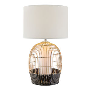 Kaylor Beige One-Light Table Lamp