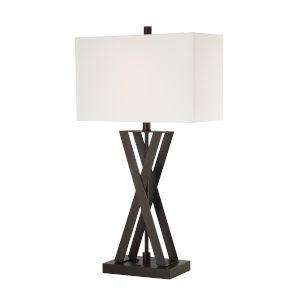 Fonda Dark Bronze One-Light Table Lamp