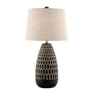 Rupali Black One-Light Table Lamp