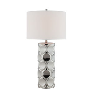 Godfried Silver One-Light Table Lamp