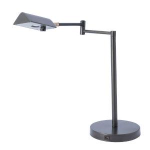Pharma Dark Bronze LED Desk Lamp