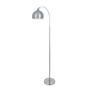 Palesa Polished Steel 66-Inch One-Light Floor Lamp