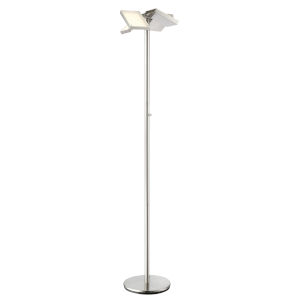 Lampard Brushed Nickel 71-Inch Four-Light LED Floor Lamp