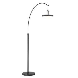 Sailee Black 84-Inch One-Light LED Arch Lamp