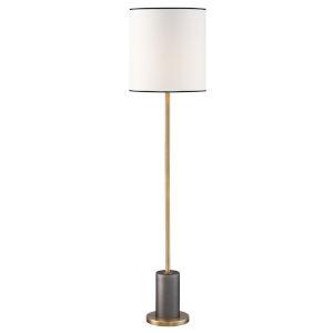 Edgerton White 64-Inch One-Light Floor Lamp