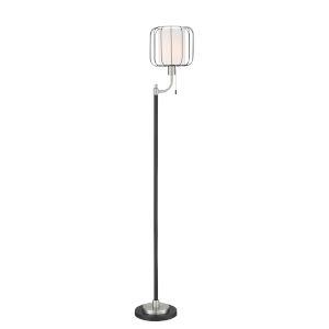 Kaleria Black 66-Inch One-Light Floor Lamp