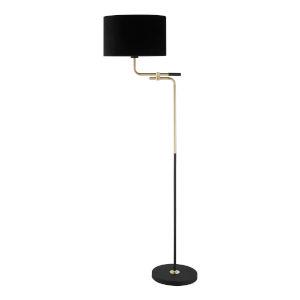 Crisanta Gold One-Light Floor Lamp
