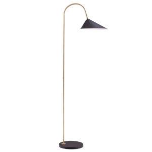 Jerome Gold One-Light Floor Lamp
