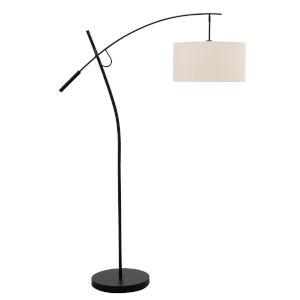 Pollux Dark Bronze One-Light Floor Lamp