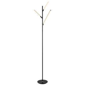 Lorant Black 75-Inch LED Floor Lamp