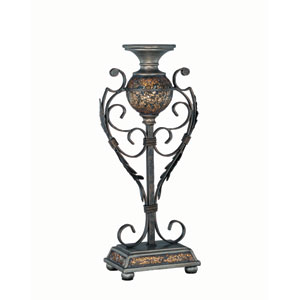 Narcisco Brown Candleholder