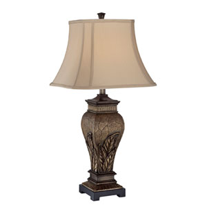 Paulette Two Tone One-Light Table Lamp