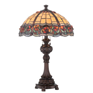 Deana Dark Bronze Two-Light Table Lamp