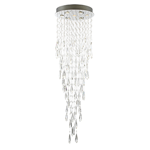 Lorelle Chrome Seven-Light LED Chandelier