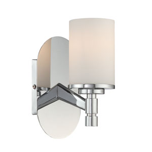 Lina Chrome One-Light Wall Lamp