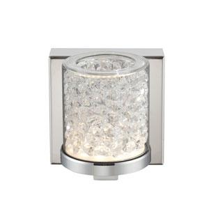 Kristen Chrome One-Light LED Wall Lamp