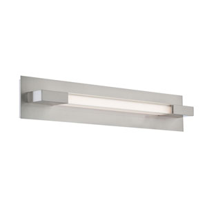 Belina LED Polished Steel One-Light Wall Sconce