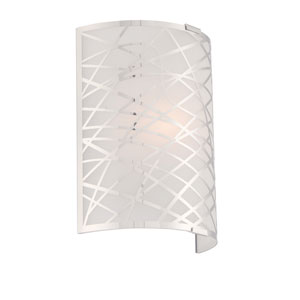 Edric Chrome One-Light Wall Sconce