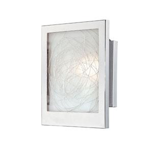 Paola Chrome One-Light Wall Sconce