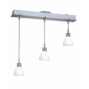 Catina Polished Steel Three-Light Pendant