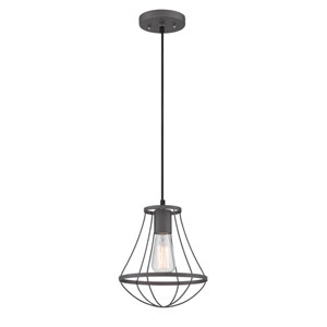 Ferguson Wrought Iron One-Light Pendant