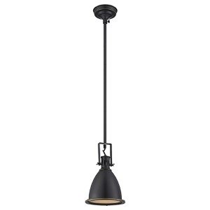 Kartik Dark Bronze One-Light Mini-Pendant
