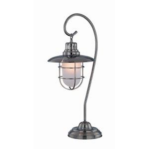 Lanterna Antique Bronze Table Lamp
