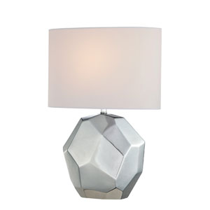 Piera Table Lamp w/ White Shade