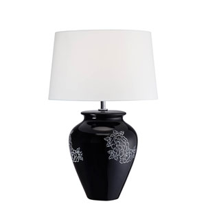 Aileen Black One-Light Table Lamp