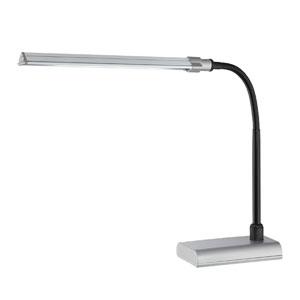 Ermete Black LED Desk Lamp