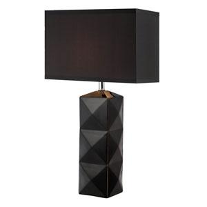 Robena Black One-Light Table Lamp