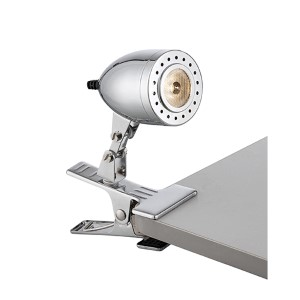 Niko Chrome 4.5-Inch High LED Clip-On Lamp