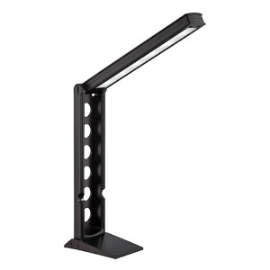 Galtem Black LED Desk Lamp