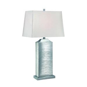 Adora Chrome One-Light Fluorescent Table Lamp
