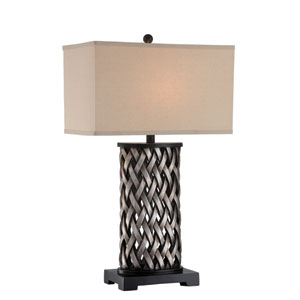Sadler Aged Silver One-Light Table Lamp