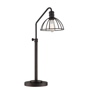 Gaius Burnished Bronze 27-Inch One-Light Desk Lamp