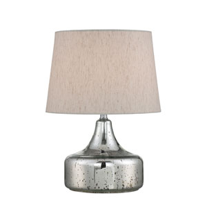 Silas Chrome 20-Inch One-Light Table Lamp